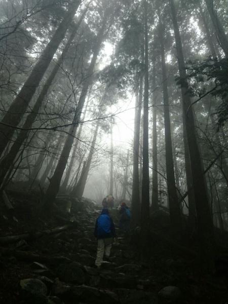 英彦山登山2